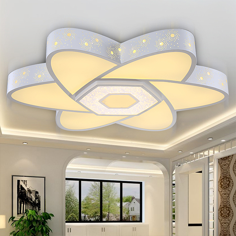 32w 50cm Modern Led Ceiling Lights For Living Room Light Fixture Indoor Lighting  Decorative Lampshade