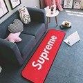 Tendencia suprema puerta rug carpet caliente colchones dormitorio carpet personalizada carpet absorbente antideslizante baño carpet 50x150 cm
