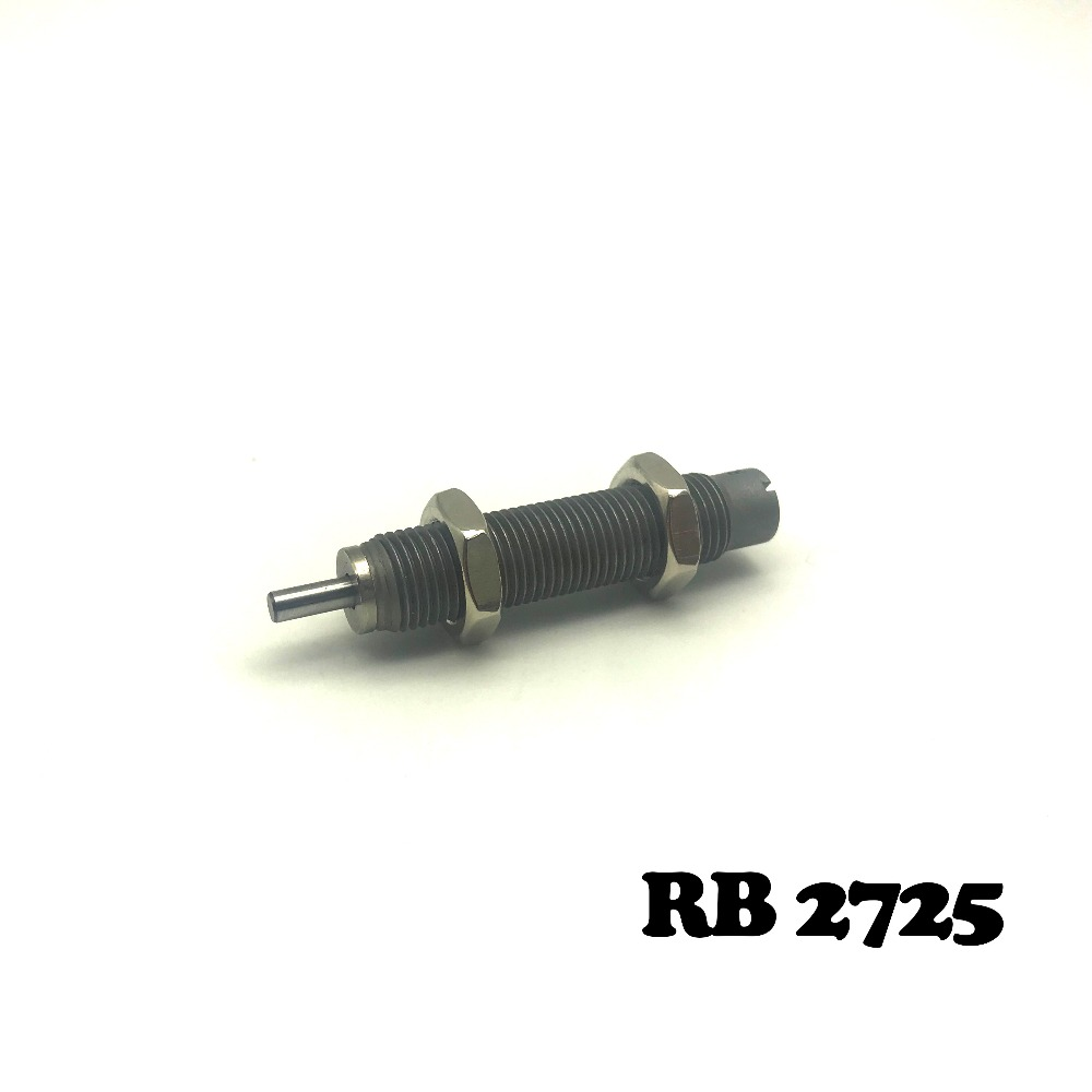RB2725 Pneumatic Air Cylinder Shock Absorber RB 2725 O.D. thread size 27mm Stroke 25mm SMC type RB series BuffersRB2725 Pneumatic Air Cylinder Shock Absorber RB 2725 O.D. thread size 27mm Stroke 25mm SMC type RB series Buffers