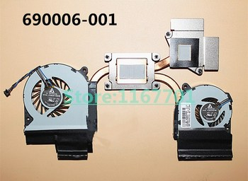 New Original Laptop/Notebook CPU cooling Radiator Heatsink&Fan for HP Envy 15-3000 15-3200 15-3202tx 690006-001