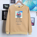 new cartoon printed male long sleeved sweatshirt mens hoodies and sweatshirts moleton masculino