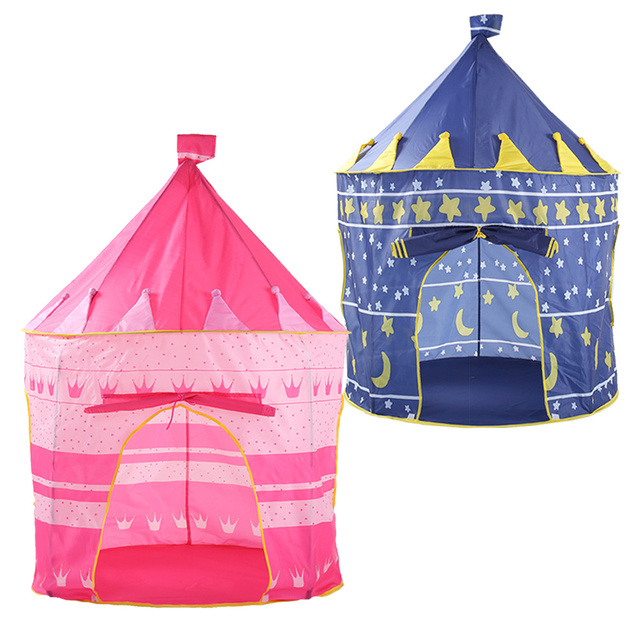Lovely Portable Children's Tent – Blue