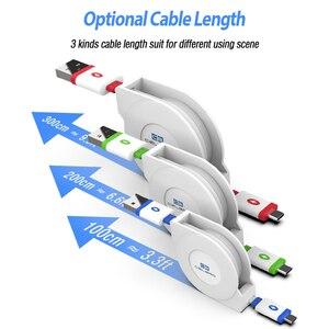 2 м 3 м Usb Type C зарядный кабель Выдвижной кабель Usbc Type C кабель для Samsung S20 Plus Note 20 Ultra Xiaomi Mi 10 Pro 9 A3 Phone|Кабели для мобильных телефонов|   | АлиЭкспресс