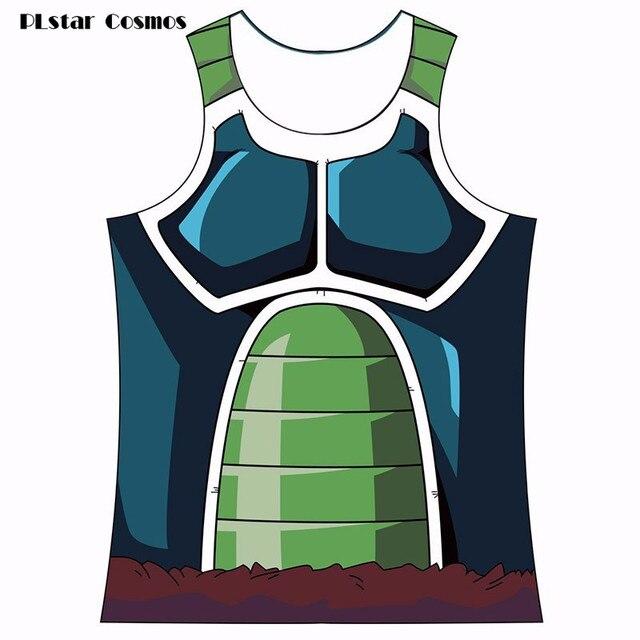 40e848d60180f Summer vest Bragon Ball Z Tank Tops Bardock Armor Tank Top Cool Fitness  Bodybuilding Vest Men Women Hipster 3D t shirt DBZ tees