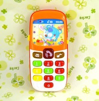 Free Shipping Electronic Toy Phone Kid Mobile Phone Cellphone Telephone Educational Learning Toy Music Machine Best