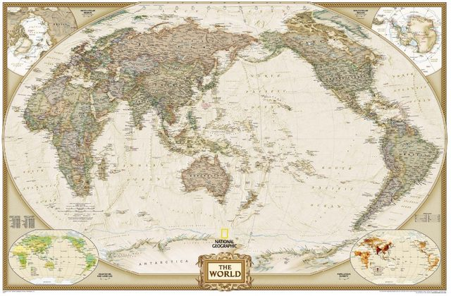 Online shop antique printed classic style canvas world map frameless antique printed classic style canvas world map frameless draw core map customized world map gumiabroncs Choice Image