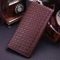 2016 carteiras de marca famosa homem carteira bolsas de couro dos homens macho magro titular do cartão de crédito coin purse for men vintage longo carteira!