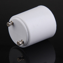 Wysokiej jakości akcesoria oświetleniowe GU24 do E27 oprawka konwertery LED światło halogenowe podstawa lampy żarówki Adapter gniazda konwertera tanie tanio ACCHAMP Oprawka converter GU24-E27