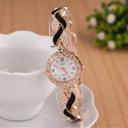 Часы-браслет JW женские, кварцевые, под платье, 2019