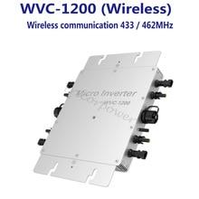 Беспроводной PV сетевой Инвертер 1200 Вт Инвертор с зарядным устройством, солнечный инвертор микро-инвертор с pwm со слежением за максимальной точкой мощности функции выходной немодулированный синусоидальный сигнал