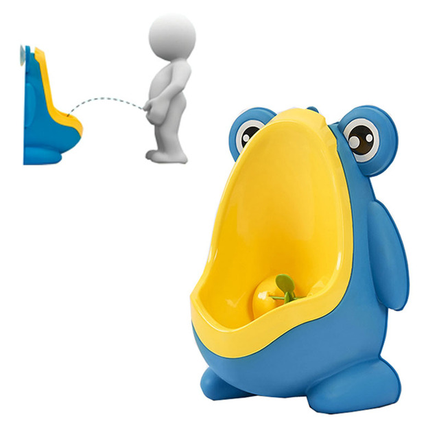 Baby Boy baby Urine Groove Stylish PP Frog Children Stand Vertical Urinal Wall-Mounted Urine Groove Boys Accessory