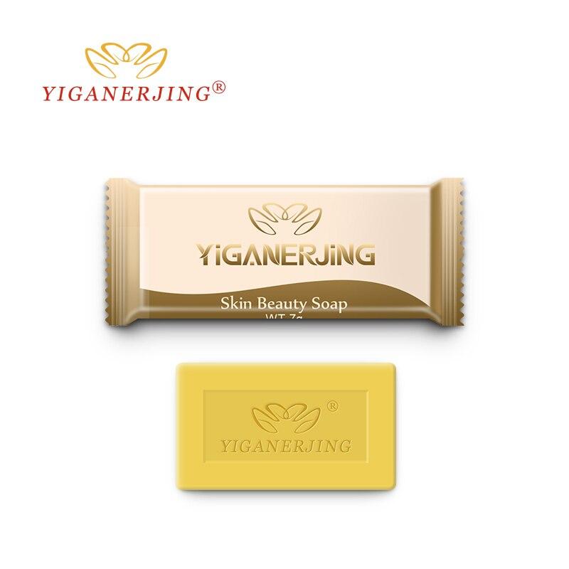 5pcs Yiganerjing Sulfur Soap Trial Pack Skin Antibacterial Treatment Acne Psoriasi Seborrhea Eczema Anti Fungus Bath Beauty Soap