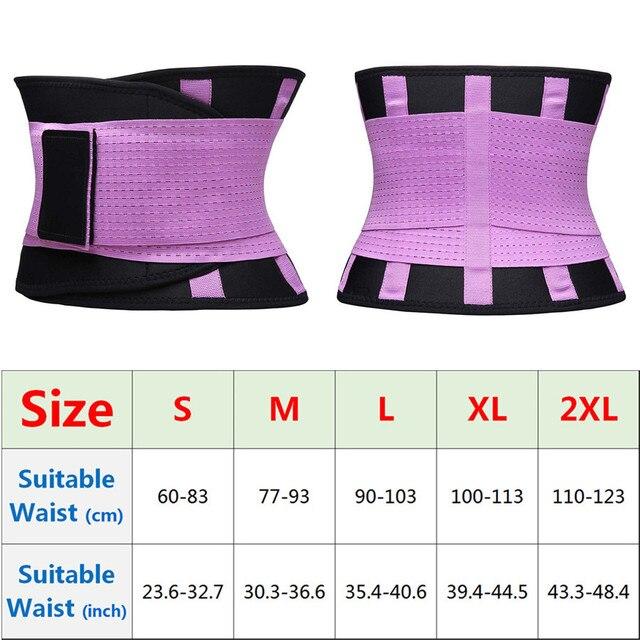 Men's Slimming Belt Body Shapers Tummy Modeling Strap Girdle Fitness Waist Trainer Trimmer Cincher Adjustable Belts Corsets 2
