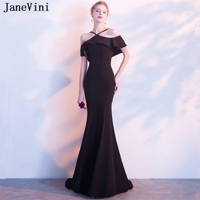 Janevini Satin Mermaid Plus Size Mother Of The Bride Dresses
