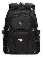 Swisswin 2016 Men Women Backpack School Bags 15 Inch Laptop Travel Bag Fashion Casual Back Pack