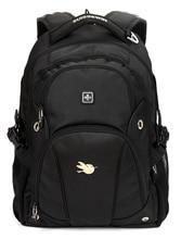 Swisswin 2016 hommes femmes sac à dos sacs d'école 15 pouce ordinateur portable voyage sac mode casual sac à dos sacs à bandoulière étanche SN9503