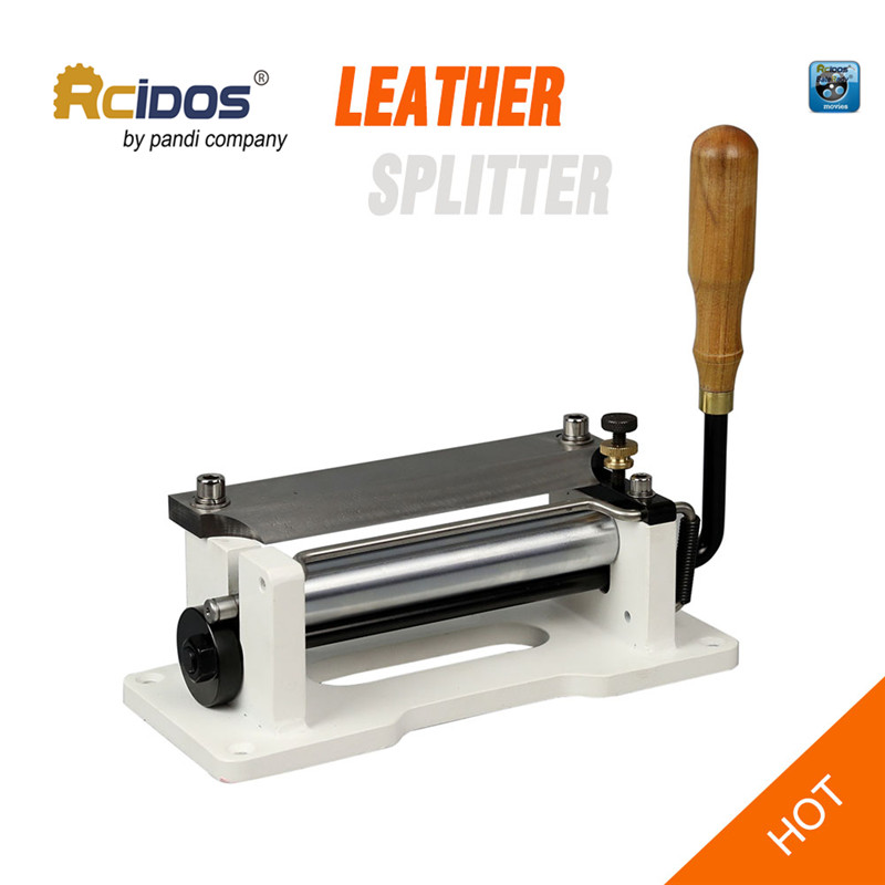 ER800P Manual leather skiver 6 inch RCIDOS handle leather peel tools DIY shovel skin Machine leather