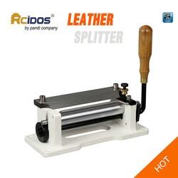 ER800P Manual leather skiver 6 inch ,RCIDOS handle leather peel tools,DIY shovel skin Machine,leather splitter