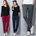 M-6XL 4 Colors Women's Harem Pants Plus Size Fashion Slim Pants Casual Losse Elastic Waist Female Pants Trousers for Women