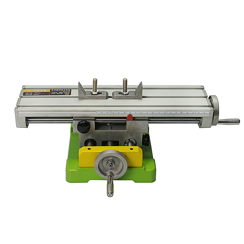 Newest CNC Part LY6350 Multifunction Milling Machine Bench Drill Vise Size Wood Lathe 350 * 100mm
