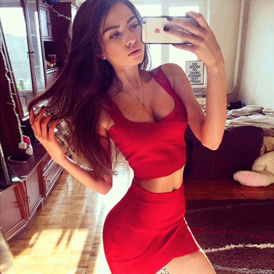 Seamyla 2019 Nova moda Žene Suknje Seksi Celebrity Party Bodycon - Ženska odjeća - Foto 6