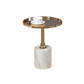 Deluxe Marble End Table For Living Room