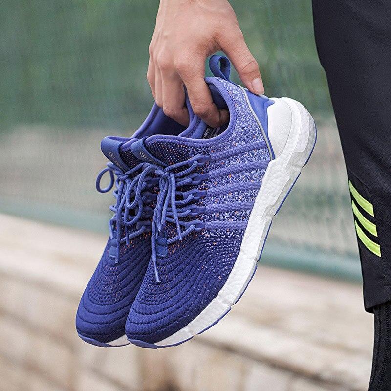 Xiaomi Mijia FREETIE Hommes Femmes Nuage de bombe absorbant sport chaussures Tricoté supérieure Élégant Rembourrage Respirant Sneaker Chaussures