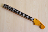 high gloss big head Jaguar electric guitar neck with square shell inlay fretboard