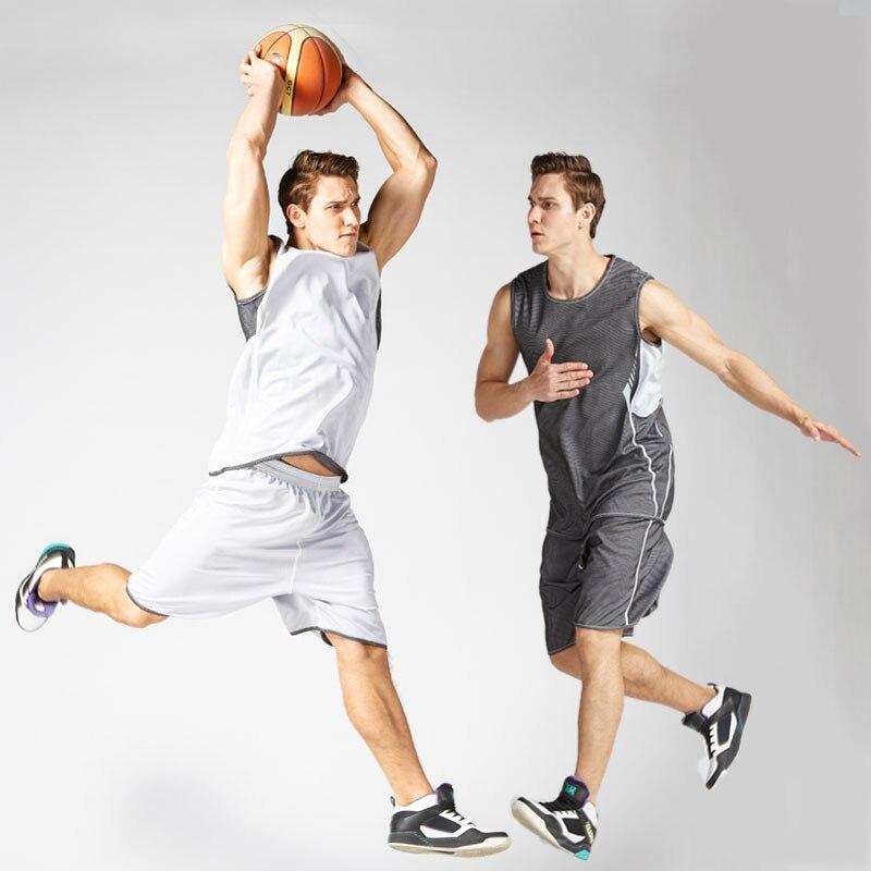 2017 הפיך גברים נסיגה כדורסל אימון ג 'רזי סטי מכללת אימוניות לנשימה ספורט כדורסל מדים מותאם אישית XL