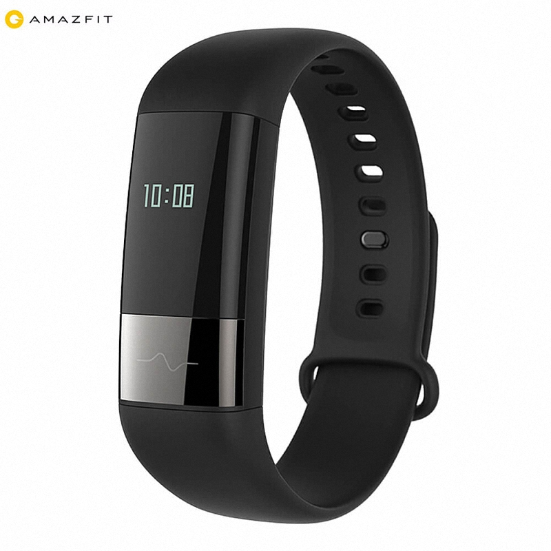 Original Xiaomi AMAZFIT Smartband Smart Bracelet Heart rate HRV Fatigue monitor with Touch Key Wristband Fitness Tracker original xiaomi amazfit moon frost equator smartband bluetooth 4 0 ip68 mi band fitness tracker for android 4 4