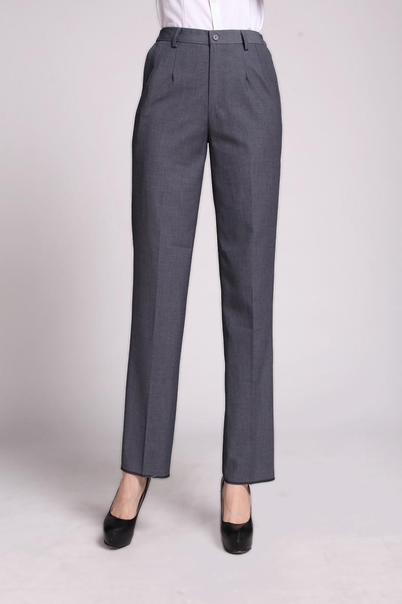 Aliexpress.com : Buy Plus Size S 3XL Dark Gray Women Pants Suits ...