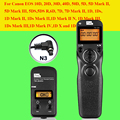 Pixel TW283 TW-283 N3 Беспроводной Таймер Пульт Дистанционного Управления Для Canon 7D 5D Mark ii 1D 6D 7D2 5D3 50D 40D 30D 10D Затвора Камеры релиз
