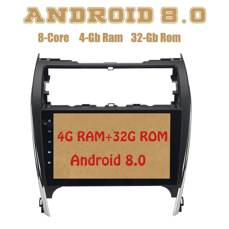 Android 8.0 car radio gps for toyota camry USA&Middle-East Version with Octa core PX5 4G RAM 32G ROM wifi 4g usb Auto Stereo все цены