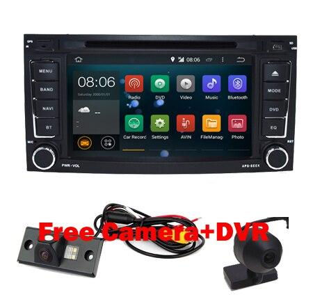 1024X600 Android 5.1.1 Quad Core Dvd-плеер Автомобиля для VW Touareg Android Multivan T5 Transporter 2004-2011 3 Г Стерео системы