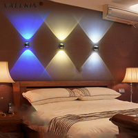 LED Wall Lamps Lights Lighting Bedroom Dining Room Living Room Porch Aisle AC110 240V 6W Background