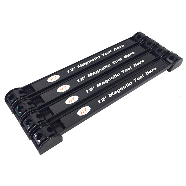 """מגנטי בעל כלי 350 מ""""מ מתכת כלי ארגונית מגנט מדף אחסון כלי עבור מוסך סדנת 4 יחידות"""