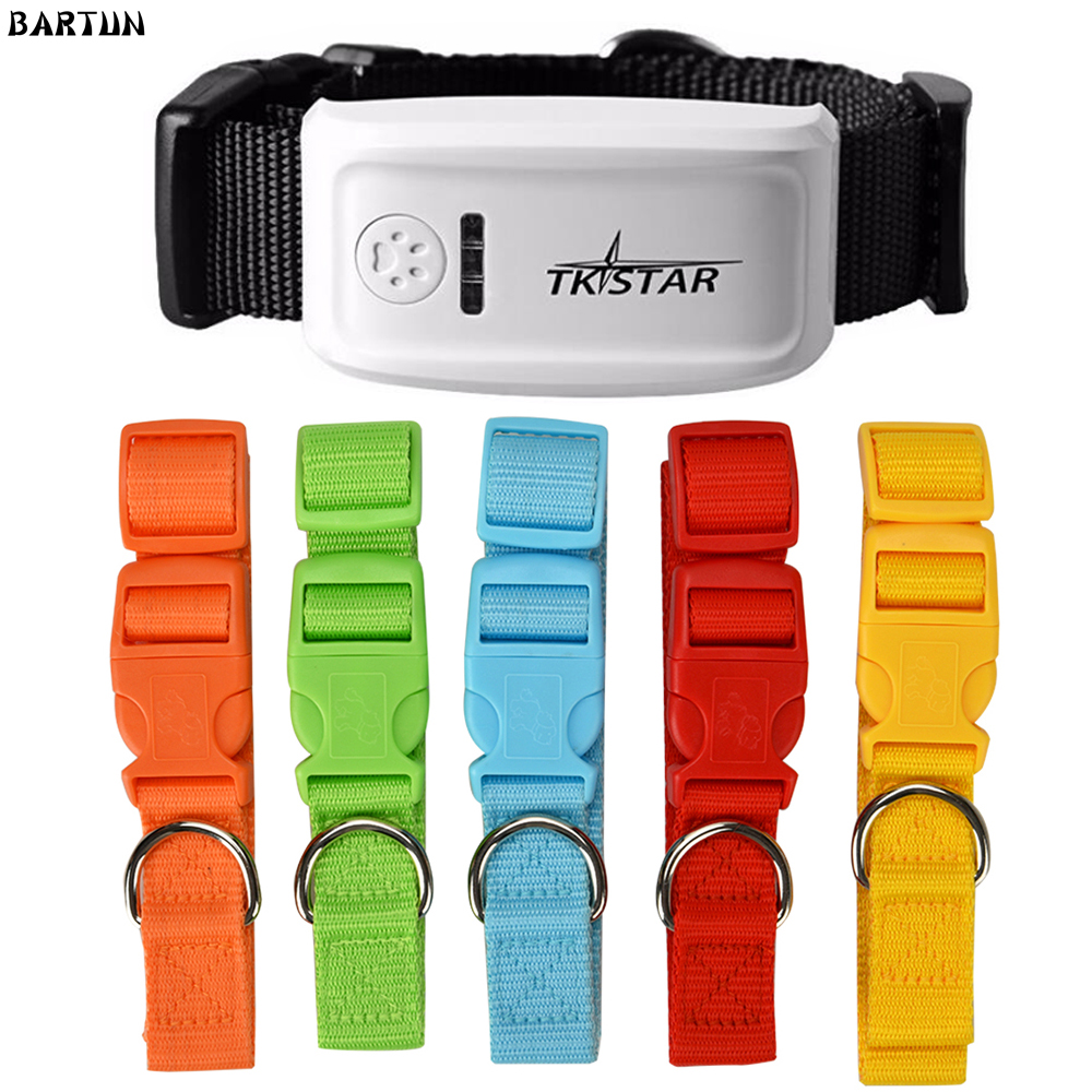 Supper Mini Tracker With Pet Collar TK909 Tracker Pet Collar for Cat Dogs Geo fence Over
