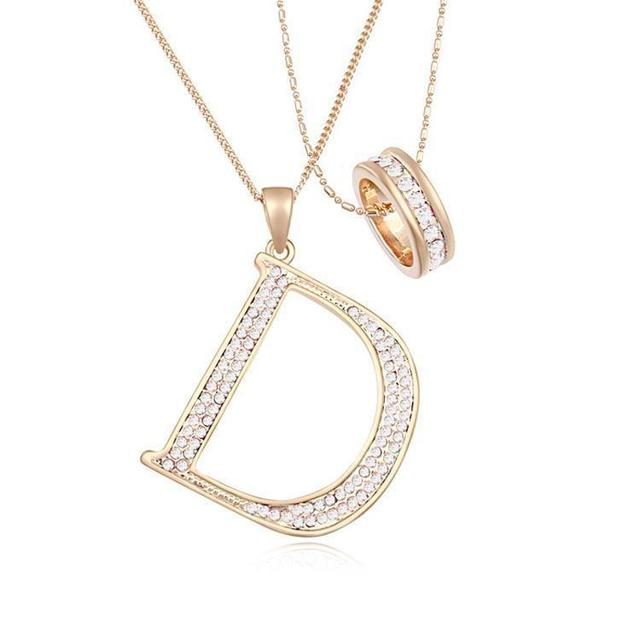 Btime 2015 Romantic Austria Crystal Sweater Chain Pendant Necklaces Miss for Women Jewelry Four Color Crystals From Swarovski