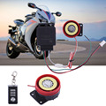 2016 Motorcycle Alarm System Anti-theft Security Alarm System Remote Control Engine Start