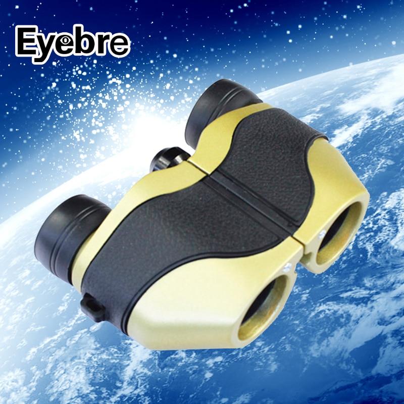 Eyebre Outdoor Hunting Sports Binoculars 8X21 HD Bird Watching Zoom Field glasses Great Handheld powelful telescope