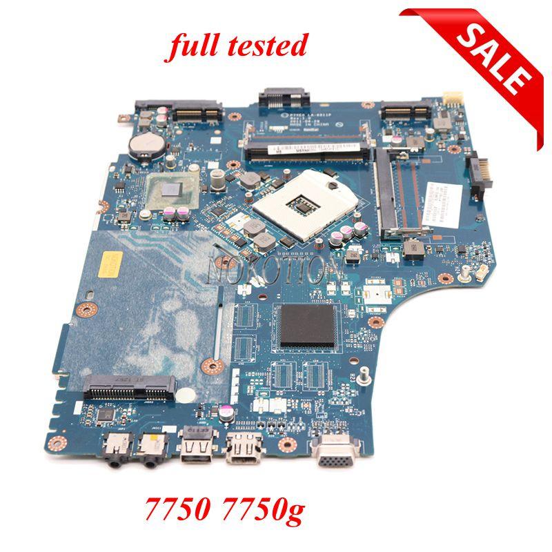 NOKOTION P7YE0 LA-6911P Laptop Motherboard For Acer Aspire 7750 7750Z HM65 DDR3 MBRN802001 MB.RN802.001 Main Board Works
