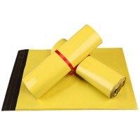 Guarnizione di auto di Plastica Gialla Poly Mailer Busta Sacchetto del Pacchetto Adesivo Corriere Sacchetti Espressi Postali di Spedizione Mailing Sacchetti Sacchetto