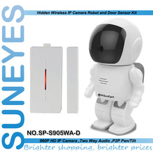 SunEyes SP S905WA D Robot IP Camera Wireless 1 3MP HD Surveillance Camera with Magnetic DoorSensor