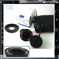 0.38X8mm F3.8 CCTV Gran Angular Ojo de Pez Lente Ojo de Pez + C Montaje adaptador Para Canon EOS-M EOS M Mark II III EOS M2 M3 M10 cámara