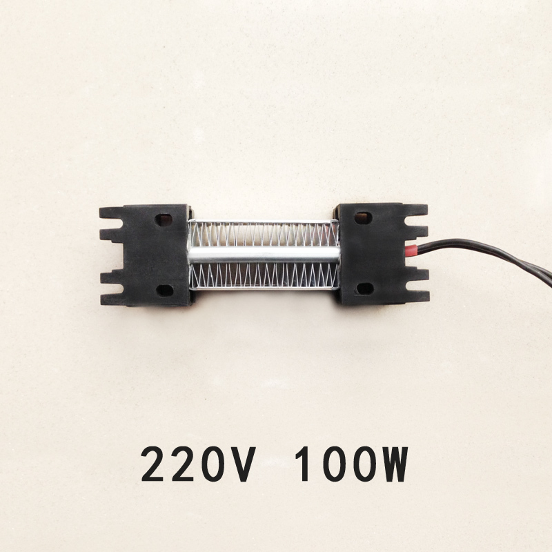 100W 220V AC DC Insulated PTC ceramic air heater PTC heating element Electric heater free shipping ptc ceramic air heater 1200w ac dc 220v clothes dryer heating apparatus element