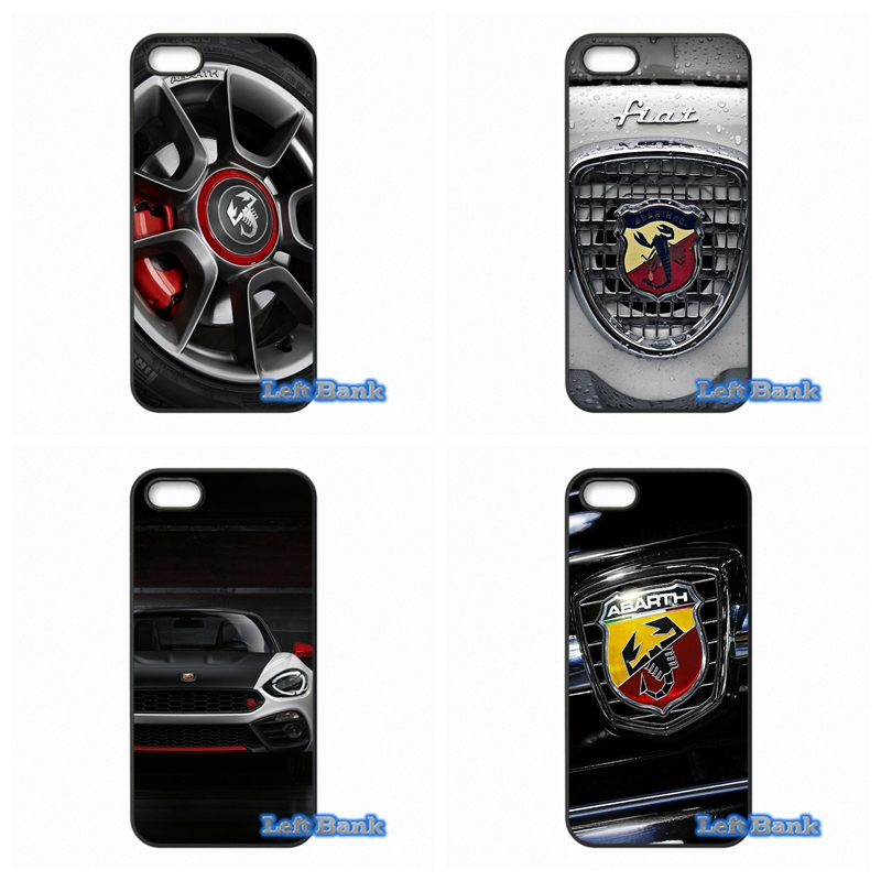 ABARTH Logo Phone Cases Cover For Apple iPhone 4 4S 5 5S 5C SE 6 6S 7 Plus 4.7 5.5 iPod Touch 4 5 6