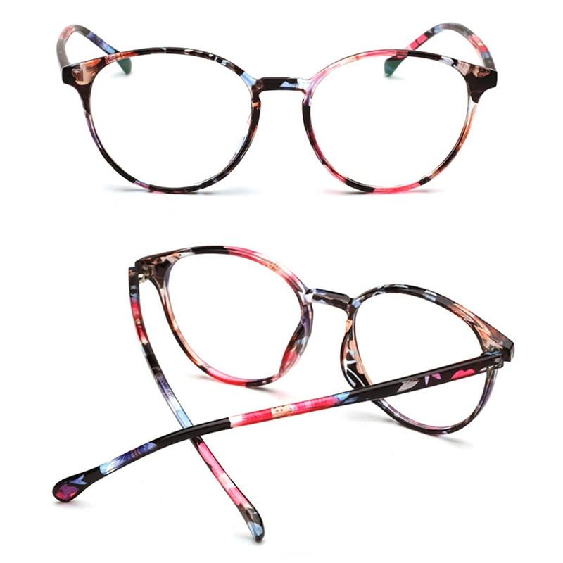 Vermetel Nieuw Ronde Bril Frame Lichtgewicht Bijziendheid Optische Glazen Frame Voor Mannen Vrouwen Laatste Stijl
