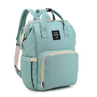 Fashion Mummy Maternity Nappy Bag Brand Large Capacity Baby Bag Travel Backpack Desinger Nursing Bag For