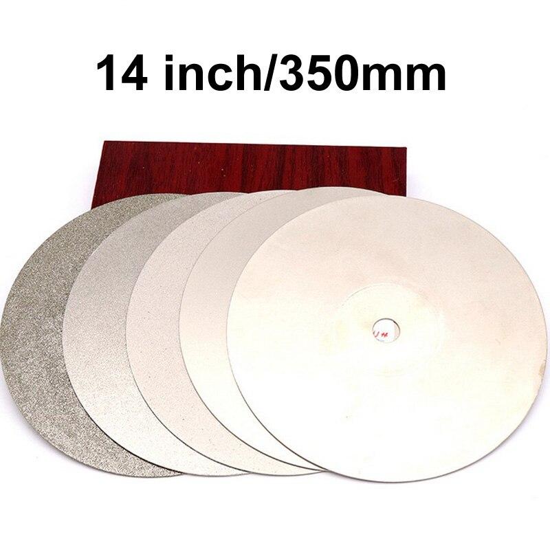 350mm 14'' inch Grit 80-1500 Diamond Flat Lap Disk Grinding Polish Wheel Grinding Pad