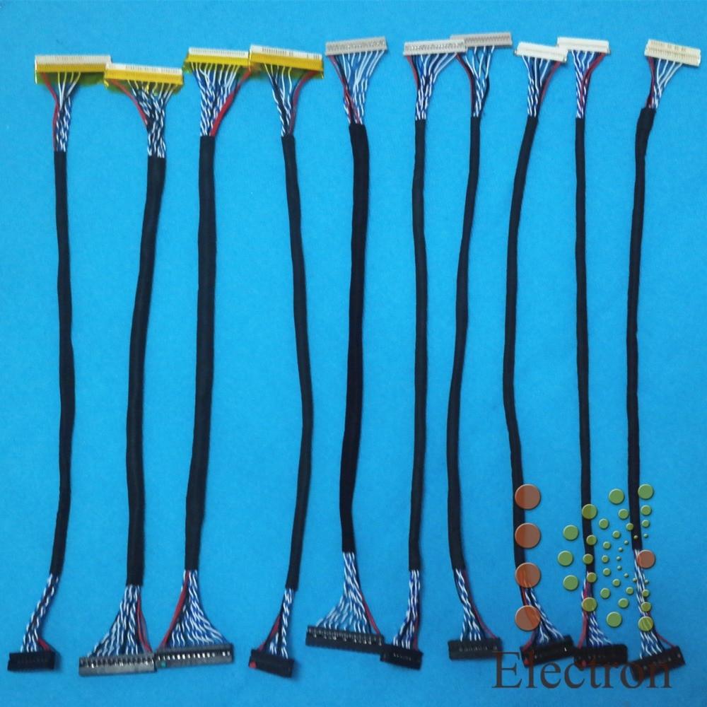 10 stks LCD scherm kabel Kit ondersteuning Universele LVDS Kabel voor - Computer kabels en connectoren - Foto 5